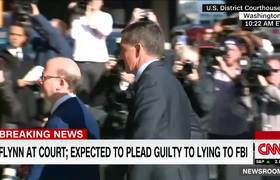 Michael Flynn enters court