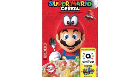 New Super Mario Cereal Box Doubles as amiibo