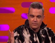 Robbie Williams Kissed a Mobsters Adam's Apple