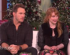 Chris Pratt & Bryce Dallas Howard Tease the 'Jurassic World'