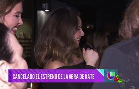 Kate del Castillo pospone estreno de obra basada en su vida