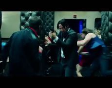 John Wick Official Movie CLIP Bar Fight 2014 HD Keanu Reeves Willem Dafoe Action Movie