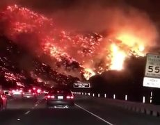Scenes of horror in California during Wildfire