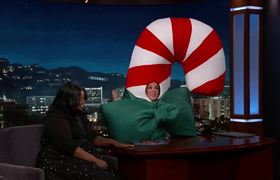 Jimmy Kimmel Live: Melissa McCarthy Interviews Octavia Spencer