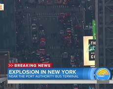 Explosion Takes Place Near New York City Port Authority