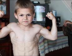 Este es el niño más fuerte del mundo