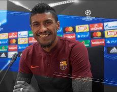 Paulinho derrumbó las críticas y ahora es pieza clave del Barcelona
