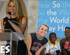 Artist Philanthropy (Ricardo Montaner, Miley Cyrus, Ricky Martin, etc.)