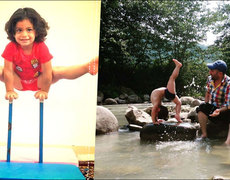Este niño de tres años es más flexible que cualquier acróbata profesional