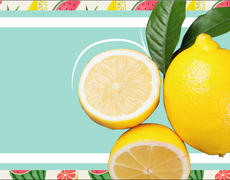 The danger of adorning your water with a slice of lemon