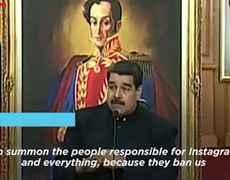 Maduro's Latest Threat