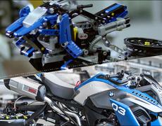BMW and LEGO Create a Flying Bike