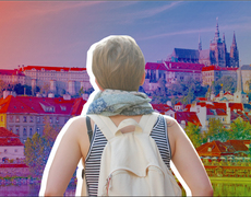 Europe is ideal for traveling alone if you know where to go