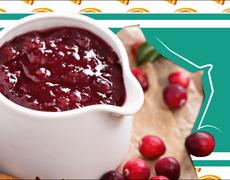 Triple Cranberry Sauce