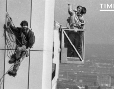 The First Person to Climb the World Trade Center Towers