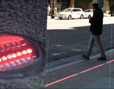 Traffic Light For Pedestrians Addicted to Their Phones