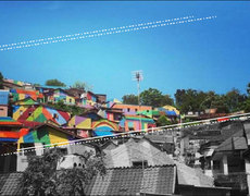 From Slum to Rainbow Town
