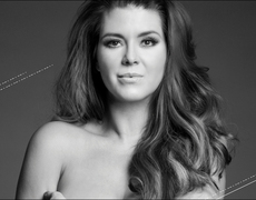 Alicia Machado Undresses