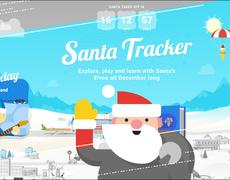 Sigue los pasos de Papá Noel (y tus regalos) con Santa Tracker