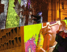 Video Graffiti Murals