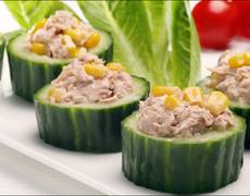 Refreshing Cucumber Bites Recipe