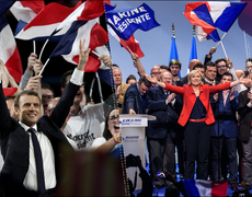 Le Pen Pulls Ahead In French Elections