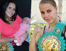 Boxing Champion and Mother
