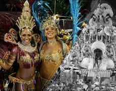 Turistas intentan bailar samba como las garotas