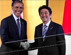 EE.UU y Japón en un apretón de manos histórico