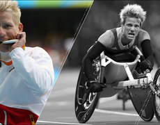 Paralympian athlete decides against euthanasia