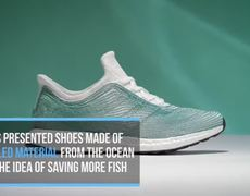 Adidas Turns Sea Trash into Shoe Class