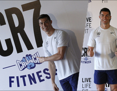 CR7 Opens Up a New Gym