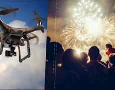 Disney Newest Fireworks Are... Drones?