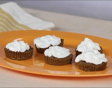 Healthy Pumpkin Pie Cupcakes