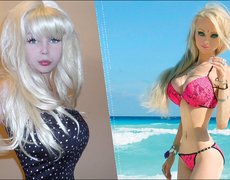 The Human Barbie's