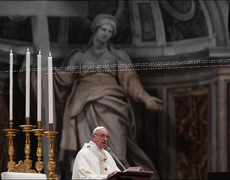 Pope Francis at Peace With Vatican's Corruption