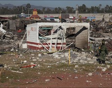 A Fireworks Factory Explodes in Mexico