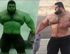 Hulk exists and he lives in Iran