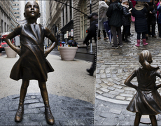 The False Message of the Wall Street Girl Statue