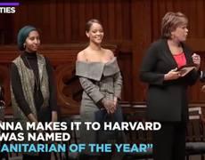 Rihanna is Harvard's Humanitarian of the Year