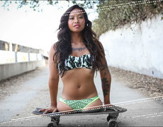 The Amelia Model Skater From Thailand