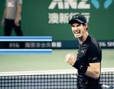 Andy Murray is getting closer to first place.