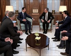 Bashar al-Assad Speaks for Peace in Syria
