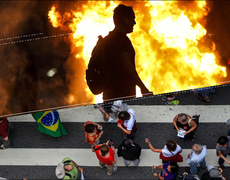 Brazil Protests for Changes in Social Seucirty
