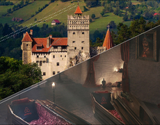 Spend the night in Dracula's Castle this Halloween season