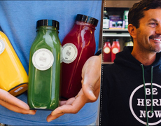 From hobo to businessman to smoothies.