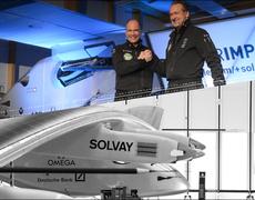 Solar Powered prototype plane to travel around the world
