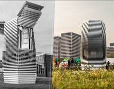 Smog Free Project: Beijing's Air Purifying Tower