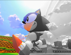 Gamers create their own video game about Sonic.
