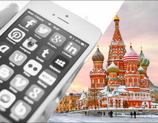 iPhones in Russia